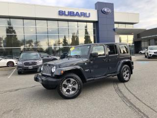 Used 2016 Jeep Wrangler Unlimited Sahara - 39000KM. for sale in Port Coquitlam, BC