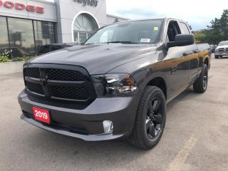 Used 2019 RAM 1500 Classic Express Quad 4x2 V6 Night Pack for sale in Hamilton, ON