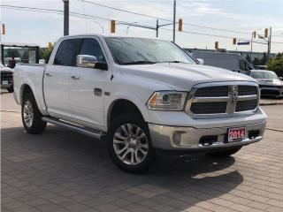 Used 2014 RAM 1500 Longhorn**AIR Suspension**Leather**Sunroof for sale in Mississauga, ON
