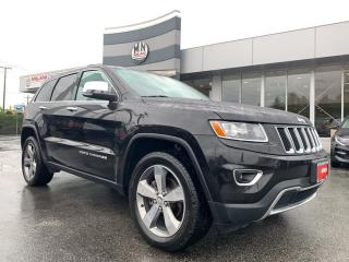 Used 2016 Jeep Grand Cherokee LIMITED 4WD NAVI SUNROOF REAR CAMERA for sale in Langley, BC
