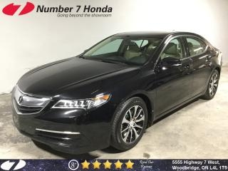 Used 2015 Acura TLX | Leather| Backup Cam| Sunroof| for sale in Woodbridge, ON