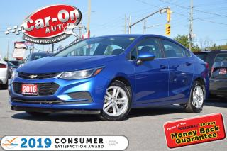 Used 2016 Chevrolet Cruze LT SUNROOF REAR CAM HTD SEATS FULL PWR GRP LOADED for sale in Ottawa, ON