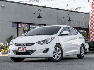 Used 2013 Hyundai Elantra 4DR SDN for sale in Oakville, ON
