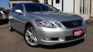 Used 2007 Lexus GS 450H HYBRID Sedan - LEATHER! SUNROOF! NAVI! BACK-UP CAM! HYBRID! for sale in Kitchener, ON