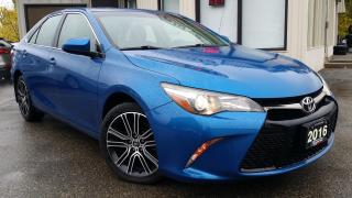 Used 2016 Toyota Camry SE - BACK-UP CAM! SUNROOF! WIRELESS CHARGER! for sale in Kitchener, ON