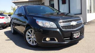 Used 2013 Chevrolet Malibu LT 2LT - LEATHER! BACK-UP CAM! REMOTE START! for sale in Kitchener, ON