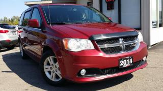 Used 2014 Dodge Grand Caravan Crew - BACK-UP CAM! STOW N GO! ACCIDENT FREE! for sale in Kitchener, ON