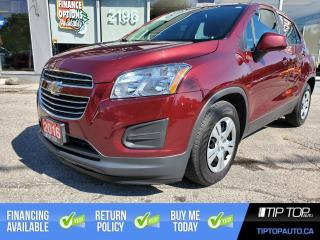 Used 2016 Chevrolet Trax LS ** 1 Owner, Clean CarFax, Low Km's ** for sale in Bowmanville, ON