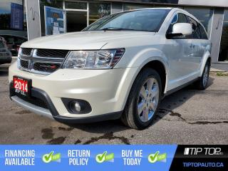 Used 2014 Dodge Journey R/T ** 7 Seats, DVD Player, Leather, AWD, Nav** for sale in Bowmanville, ON