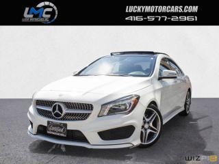 Used 2016 Mercedes-Benz CLA250 4MATIC AMG SPORT PKG-PANOROOF-BACKUPCAM-BLINDSPOT-NAV for sale in Toronto, ON