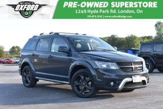 Used 2018 Dodge Journey Crossroad - Well Equipped, NAV, Sunroof for sale in London, ON