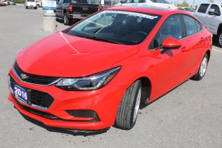 Used 2016 Chevrolet Cruze LT for sale in Carleton Place, ON