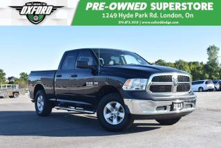Used 2015 RAM 1500 ST - One Owner, Well Maintained, Trailer Hitch for sale in London, ON