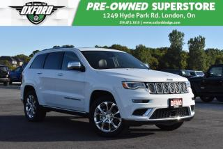 Used 2019 Jeep Grand Cherokee Summit 4x4 - Top of the Line, Trailer Hitch, Heate for sale in London, ON