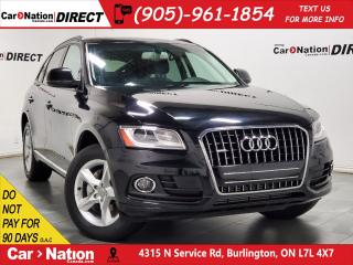 Used 2017 Audi Q5 2.0T Komfort quattro| PANO ROOF| PUSH START| for sale in Burlington, ON