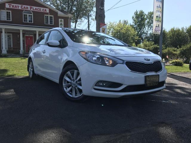 2015 Kia Forte EX Alloys-Pwr Windos-Cruise-A/C-Htd Front Seat