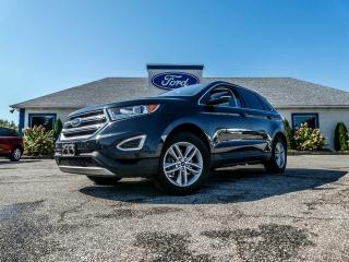 Used 2015 Ford Edge SEL- LEATHER- SUNROOF- NAVIGATION- REMOTE START for sale in Essex, ON