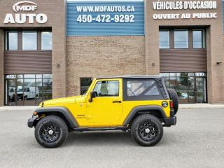 Used 2015 Jeep Wrangler 4 RM 2 portes Sport for sale in St-Eustache, QC