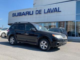 Used 2012 Subaru Forester 2,5X ** Seulement 61 000KM ** for sale in Laval, QC