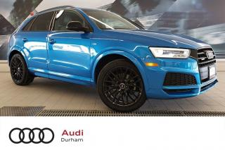Used 2018 Audi Q3 2.0T Technik + Nav   Rear Cam   Loaded! for sale in Whitby, ON