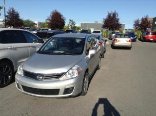 Used 2012 Nissan Versa Hayon 5 portes 4 cyl. en ligne, boîte au for sale in Montréal, QC