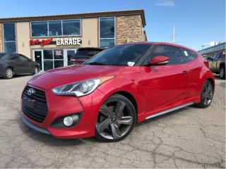 Used 2013 Hyundai Veloster Turbo | Panoroof | Nav | Leather | Auto | for sale in St Catharines, ON