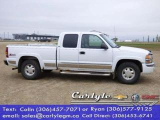 Used 2003 GMC Sierra 1500 Ext. Cab, Leather Buckets for sale in Carlyle, SK