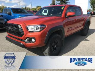 Used 2018 Toyota Tacoma Limited Clean Carfax - Navigation for sale in Calgary, AB
