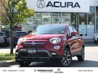 Used 2016 Fiat 500 x Trekking AWD Winter Tires Incl, Rare Availability for sale in Markham, ON