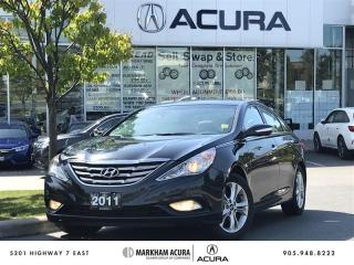 Used 2011 Hyundai Sonata Limited at Navi, Heated Seats, Sunroof for sale in Markham, ON