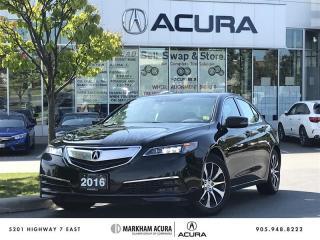 Used 2016 Acura TLX 2.4L P-AWS w/Tech Pkg Navi, Backup Cam, Blind Spot Info for sale in Markham, ON