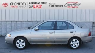 Used 2005 Nissan Sentra SPECIAL EDITION, 1 SEUL PROPRIÉTAIRE, AUTOMATIQUE for sale in Laval, QC