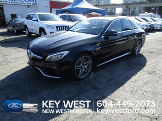 Used 2016 Mercedes-Benz C-Class AMG C 63 S for sale in New Westminster, BC