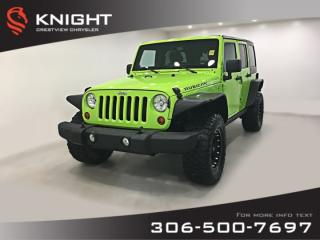 Used 2013 Jeep Wrangler Unlimited Rubicon | Heated Seats | Navigation | Remote Start for sale in Regina, SK