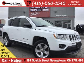 Used 2012 Jeep Compass Sport/North| ALLOYS| FOGS| PWR GRP| CLEAN CARFAX for sale in Georgetown, ON