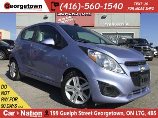 Used 2015 Chevrolet Spark 1LT | BLUE TOOTH | ALLOYS | CLEAN CARFAX for sale in Georgetown, ON