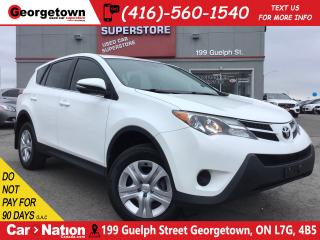 Used 2015 Toyota RAV4 LE | TINTS | BLUE TOOTH | CLEAN CARFAX for sale in Georgetown, ON