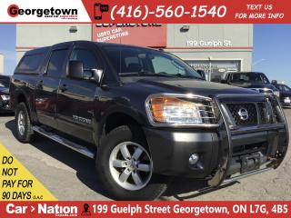 Used 2011 Nissan Titan PRO-4X | DVD | TOW PKG | BED CAP | 116,925KMS for sale in Georgetown, ON