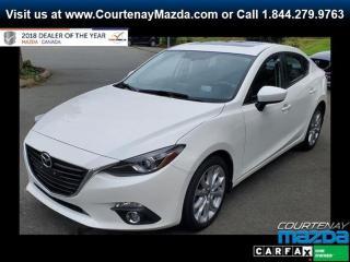 Used 2016 Mazda MAZDA3 GT at for sale in Courtenay, BC