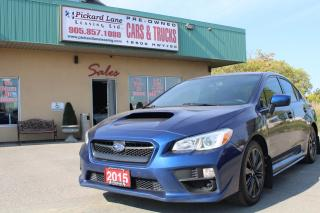 Used 2015 Subaru WRX CERTIFIED!! for sale in Bolton, ON