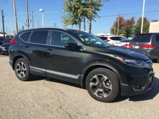 Used 2017 Honda CR-V Touring Sold Pending Customer Pick Up...Bluetooth, Back Up Camera, Navigation, and More! for sale in Waterloo, ON