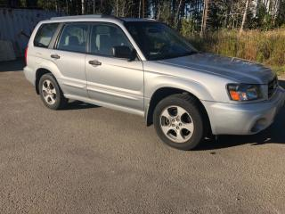 Used 2004 Subaru Forester XS for sale in Mirabel, QC