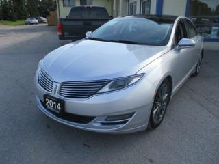 Used 2014 Lincoln MKZ LOADED HYBRID EDITION 5 PASSENGER 2.0L - HYBRID ENGINE.. NAVIGATION.. LEATHER.. HEATED/AC SEATS.. BACK-UP CAMERA.. POWER SUNROOF.. for sale in Bradford, ON
