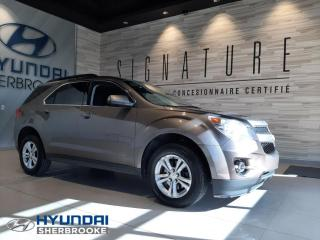 Used 2012 Chevrolet Equinox LT+AWD+2.4+CAMERA+BLUETOOTH+CRUISE+MAGS for sale in Sherbrooke, QC