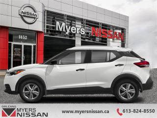 New 2019 Nissan Kicks SV FWD  -  Alloy Wheels -  Fog Lights - $162 B/W for sale in Orleans, ON