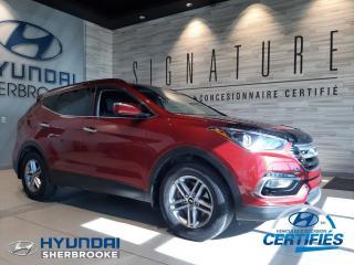 Used 2017 Hyundai Santa Fe PREMIUM+CAMERA+DEMARREUR+BANCS CHAUFF for sale in Sherbrooke, QC