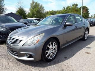 Used 2012 Infiniti G37X  S Luxury for sale in Pickering, ON