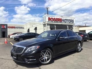 Used 2016 Mercedes-Benz S400 4MATIC - NAVI - PANO ROOF - 360 CAMERA for sale in Oakville, ON
