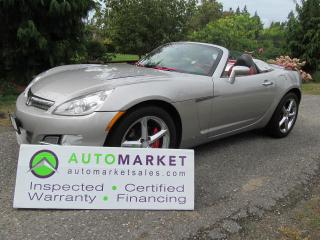 Used 2007 Saturn Sky ROADSTER, INSPECTED, BCAA MBSHP, WARR, FINANCE for sale in Surrey, BC