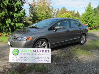Used 2008 Honda Civic Si, 6sp, LOADED, INSP, BCAA MBSHP, WARR, FINANCING! for sale in Surrey, BC